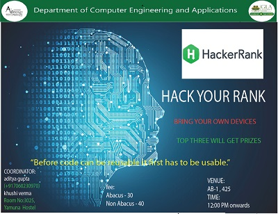 HackRank- Hack Your Rank