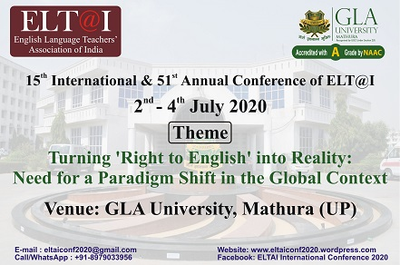 15th International and 51st Annual Conference - 2020