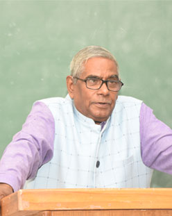 Guest Lecture By Prof. An Forirudh Prasad Dept.of Law