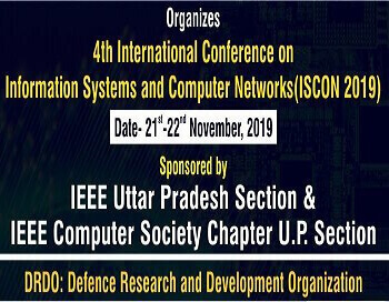 4th IEEE International Conference on Information Systems & Computer Networks