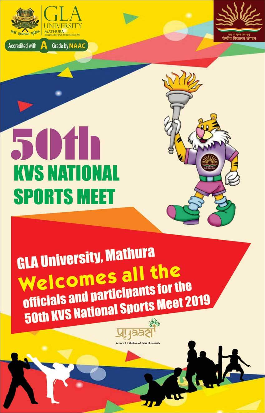 50th KVS National Sports Meet 2019