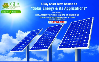 Solar Energy and its application